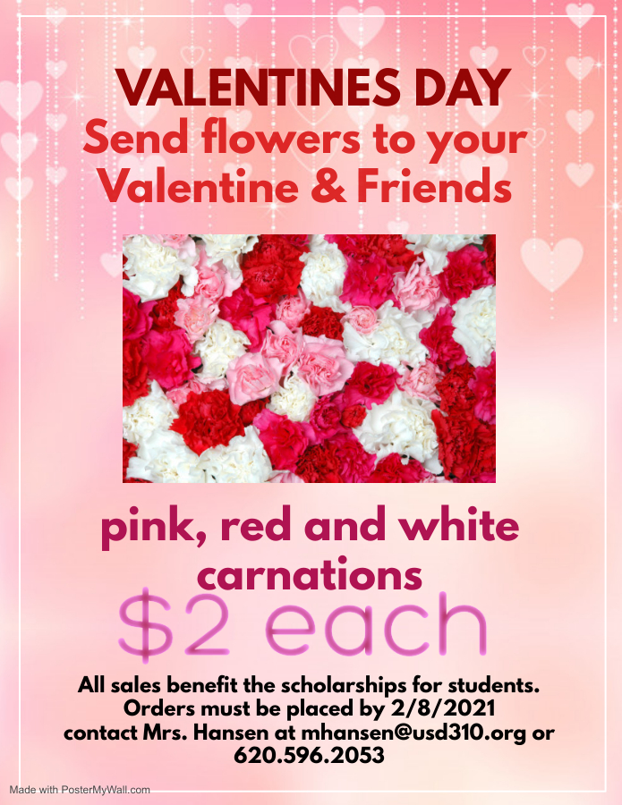Stuco Valentine's Day Flowers