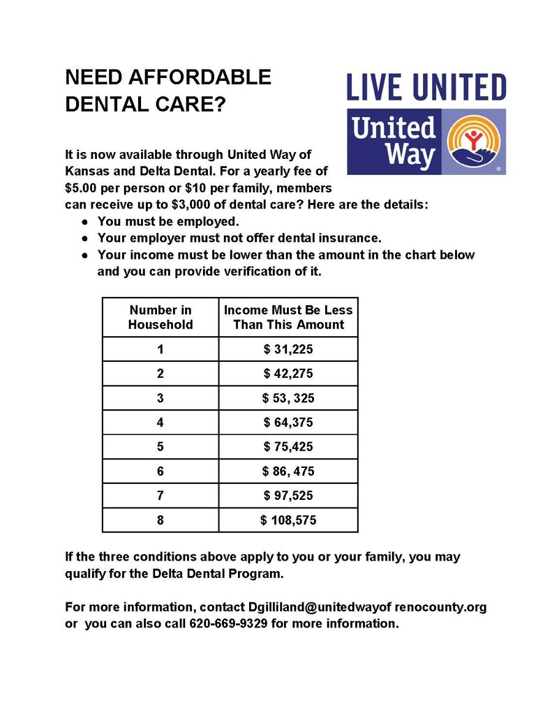 United Way & Delta Dental