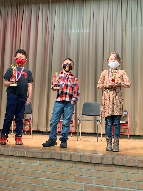 K-2 Spelling Bee winners!