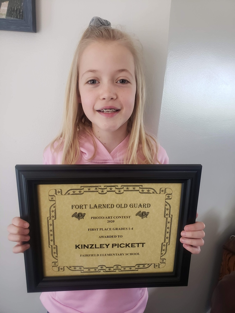 Congratulations Kinzley!